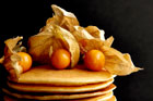 Pancakes with Physalis